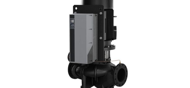 Grundfos Inline-Pumpen TPE – Große Fördermengen effizient transportieren