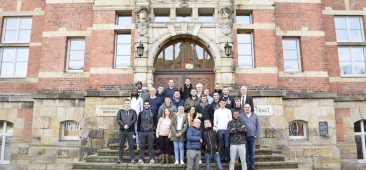 Maschinenbau-Studierende aus Frankreich besuchten die Hochschule Bremen