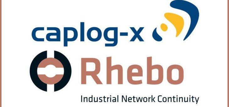Rhebo und caplog-x arbeiten gemeinsam für die sichere Digitalisierung der Energiewirtschaft