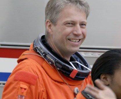 Astronaut Thomas Reiter an der Hochschule Aalen