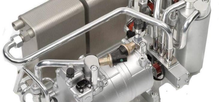 Kompakter Kältemittelkreislauf mit neuem Thermomodul