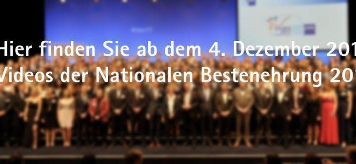 Bundespräsident Steinmeier und DIHK-Präsident Schweitzer gratulierten 213 Jugendlichen für Spitzenleistungen in der Ausbildung