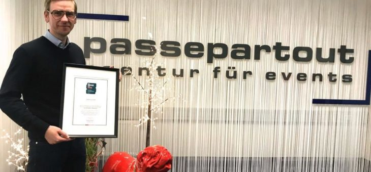 Fullservice Eventagentur Passepartout erhält FOCUS- BUSINESS Award