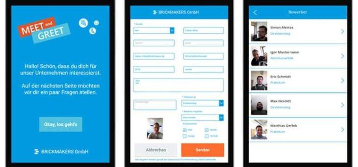 Brickmakers entwickelt individuelle Recruiting-Apps zum Einsatz auf Jobmessen