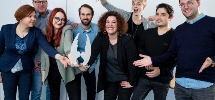 wdv-Gruppe gewinnt mit der Kampagne Pflege #vorbessern den Health Media Award