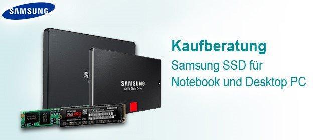 Schnell zur richtigen SSD für Notebooks und Desktopgeräte