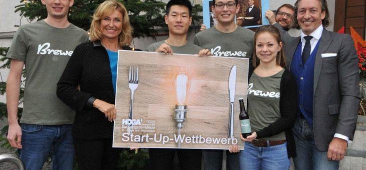 Brewee gewinnt den Start-up-Wettbewerb zur HOGA 2019