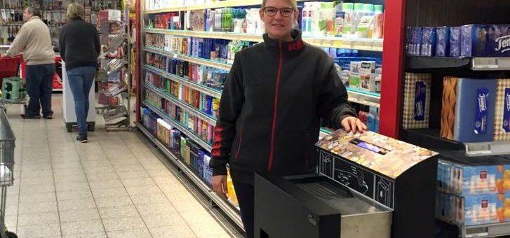 SB-Münzeinzahler entlastet Händler und begeistert REWE-Kunden in Witten