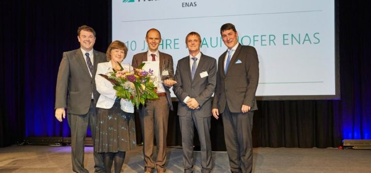 Fraunhofer ENAS verleiht Forschungspreis für Entwicklung von Technologien für 3D-Integration in MEMS-Anwendungen