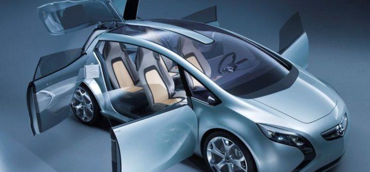 Das autonome Fahrzeug öffnet Türen