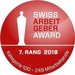Top Platzierung der Bison IT Services beim Swiss Arbeitgeber Award 2018