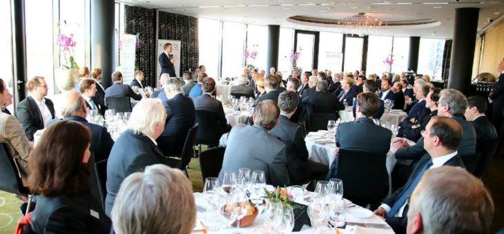 FDP-Chef Christian Lindner zu Gast bei Kloepfel Consulting in Düsseldorf