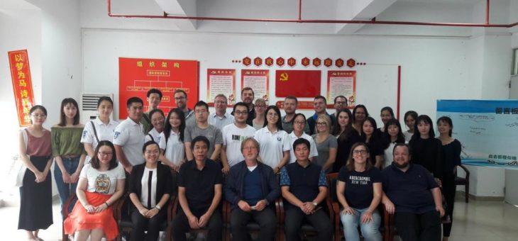 MBA-Fernstudierende der Hochschule Ludwigshafen besuchen China