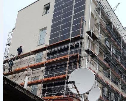 Solarstrom für eigenen Strom kann auf jedem Dach oder Fläche erzeugt werden