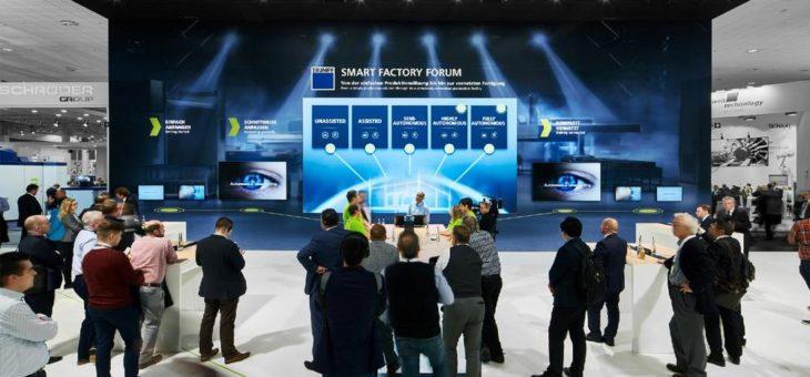 TRUMPF präsentiert die Smart Factory und selbst lernende Maschinen