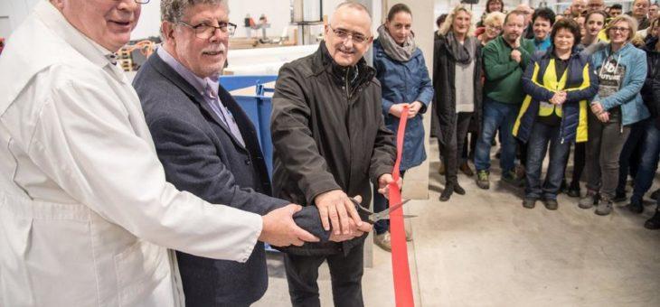 Einweihungsfeier mit Konzernspitze: Albaad Deutschland wächst um 4.500 Quadratmeter