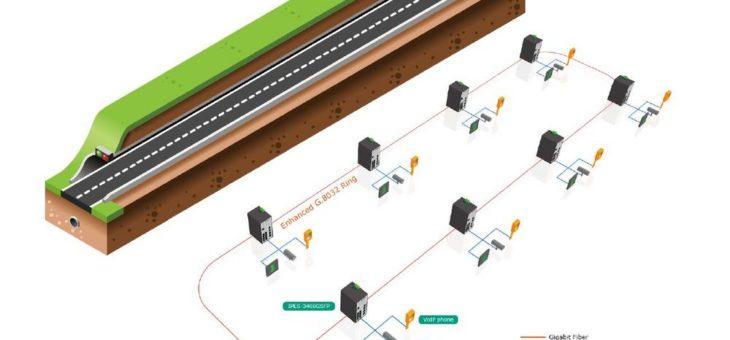 Betreiber des Laerdal Tunnels in Norwegen setzen auf Lantech PoE Switche
