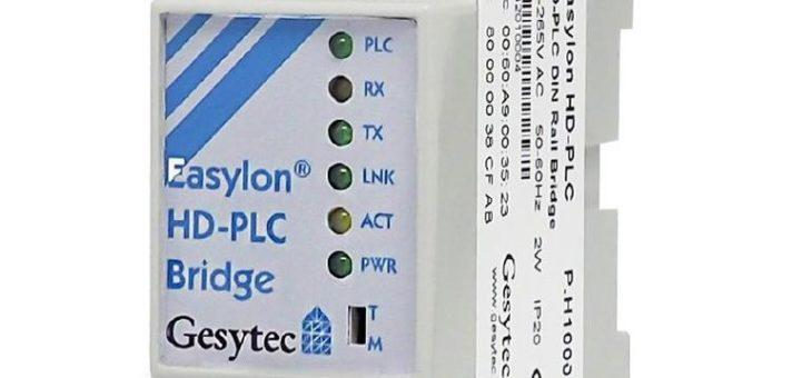 Gesytec bringt HD-PLC auf den Markt