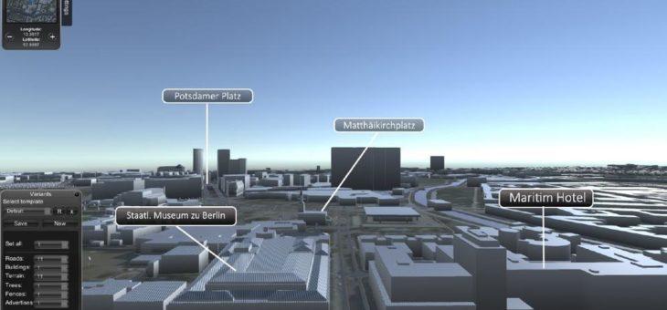 Titan – DIE Software zur Generierung von 3D-Datensätzen für Straßen, Gebäude, Terrains und vielfältige Details