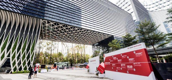 Leuze electronic China eröffnet neue Niederlassung