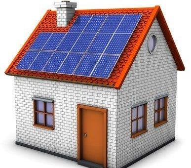 Nutzen Sie Ihr Dach zur Erzeugung von Solar-Strom für Haus Heizung und Auto