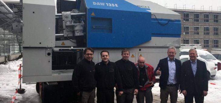 Gießereilabor erhält neue Zink-Druckgießmaschine