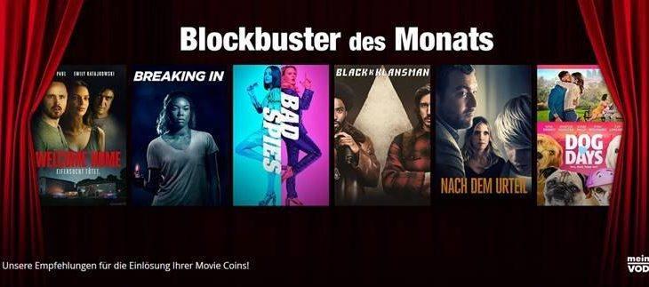 Vorhang auf für die neuen Movie-Highlights bei freenet Video im Januar