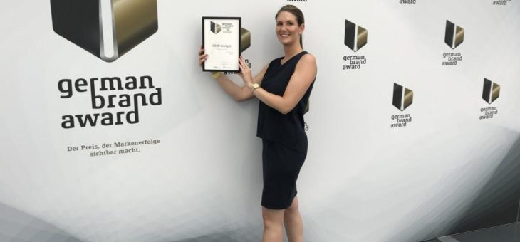 GEZE erhält den German Brand Award