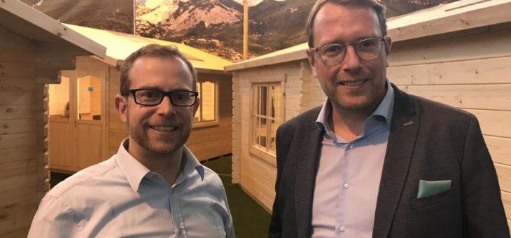Austausch zwischen Politik und Wirtschaft: SALT AND PEPPER Software Solutions begrüßt Staatssekretär Stefan Muhle