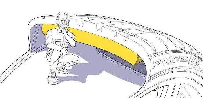 Pirelli PNCS Technologie reduziert das Reifengeräusch um 25 Prozent