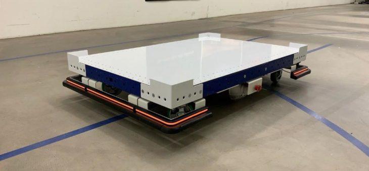 Fahrerloser Transport als modulare Lösung: FlexQube eQart