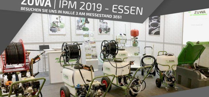 ZUWA auf der IPM MESSE 2019 – ESSEN