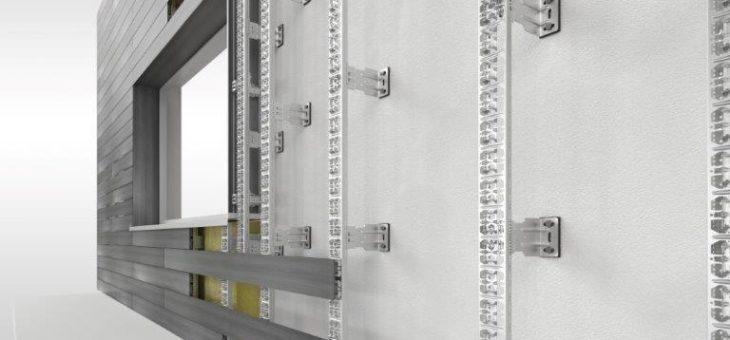 NOVO-TECH stellt neues Fassadensystem mit ausgeklügelter Unterkonstruktion aus Edelstahl auf der BAU 2019 in München erstmals vor