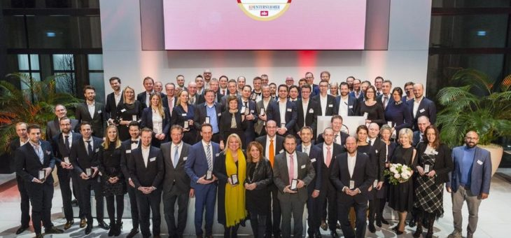 Deutscher Exzellenz-Preis 2019: 63 ausgezeichnete Unternehmen
