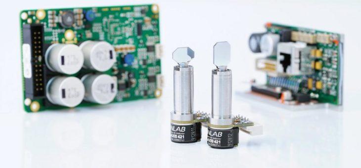 Smarter Galvanometer-Scanner für medizinische und wissenschaftliche Anwendungen