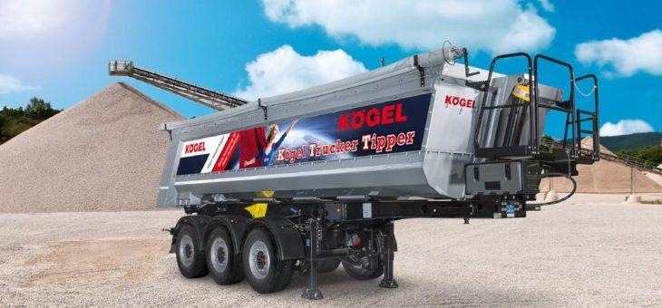 Kögel Trucker Tipper – an die Anforderungen der Fahrer angepasst