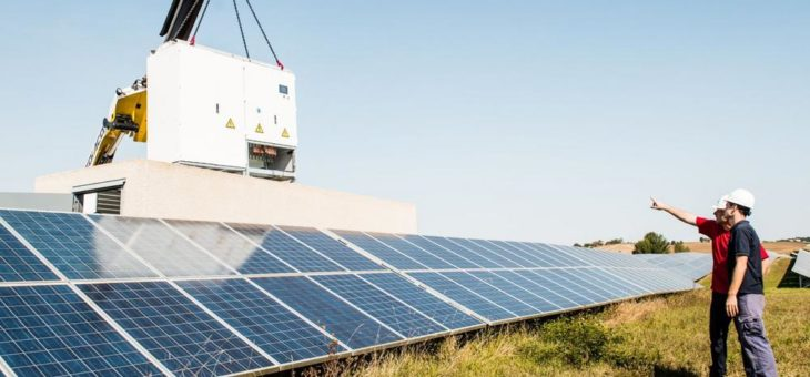 SMA Repowering macht Solarkraftwerke fit für die Zukunft