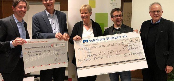 Tour Ginkgo rollt für kranke Kinder und fährt knapp 120.000 € ein
