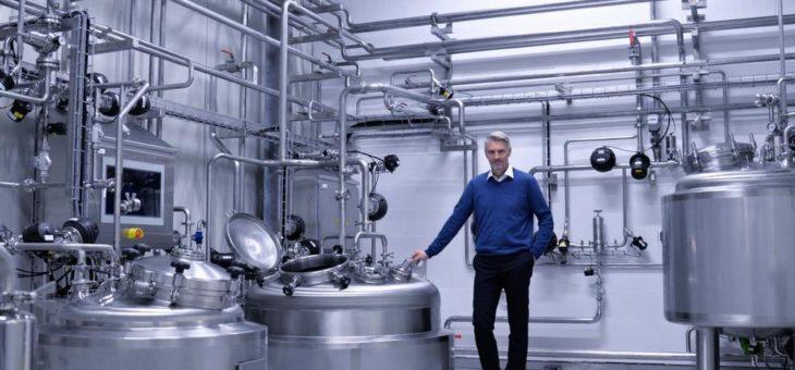 Wellmann Engineering realisiert Anlage für Starterkulturen bei MicroTec