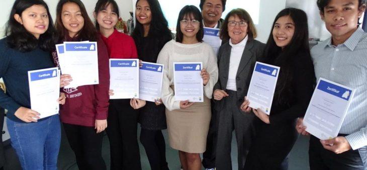 Weltweit als Botschafter für die Hochschule Aalen unterwegs