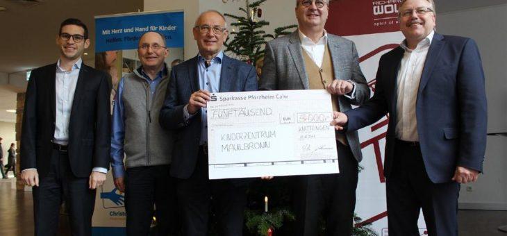 Richard Wolf spendet 12.000 Euro an soziale Einrichtungen der Region
