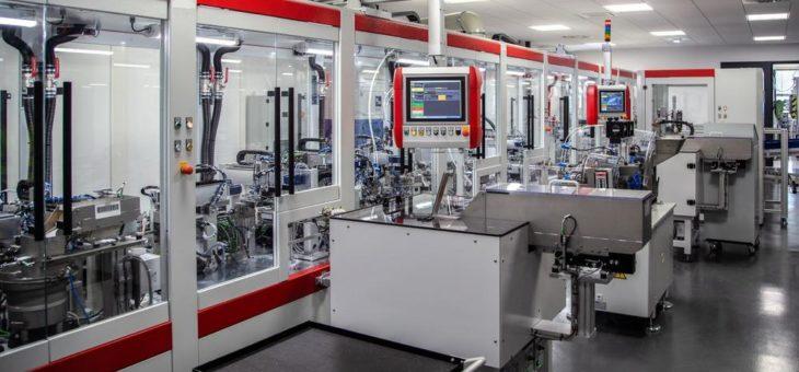 Innovative Montageanlage ermöglicht Effizienzsprung in der Schalterproduktion