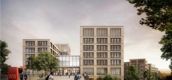 """Firmengruppe Max Bögl realisiert auch den zweiten Bauabschnitt des Großprojekts """"W&W-Campus"""" in Kornwestheim"""