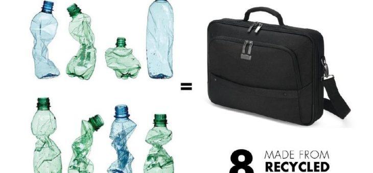 Von der alten Flasche zur neuen Tasche: DICOTA setzt auf recycelte Materialien