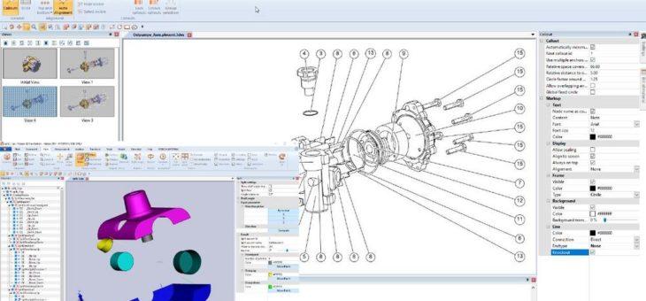 CAD-Daten für die Technische Dokumentation aufbereiten, Split-Funktion, Feature-Erkennung – und wieder schneller