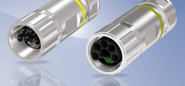 CONEC Hybrid Steckverbinder feldkonfektionierbar