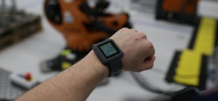 Smartwatches in der Produktion