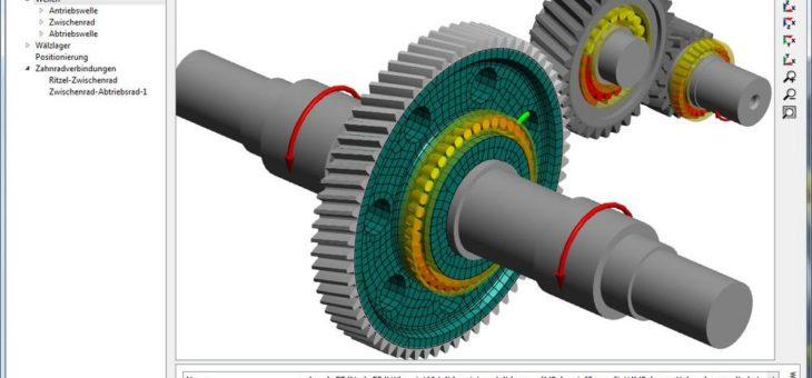 Elastische Radkörper und Lagerringe im Getriebesystem berücksichtigen