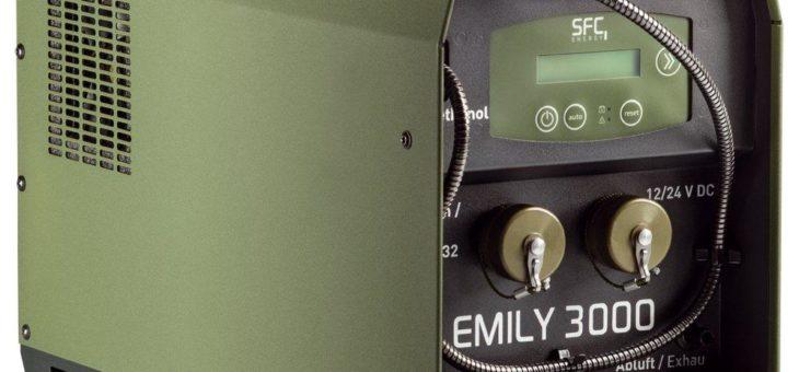 SFC Energy feiert 10 Jahre EMILY Brennstoffzelle für Defense & Security Anwendungen