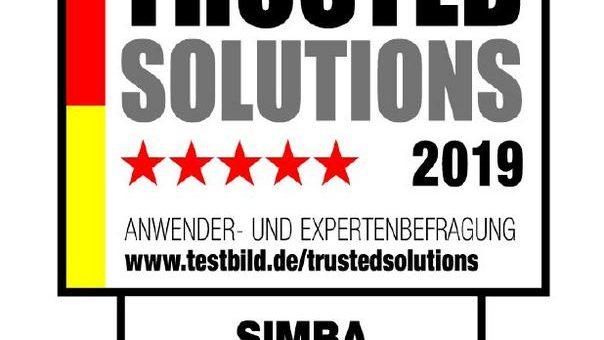 Erneute Auszeichnung für Simba Computer Systeme GmbH: Trusted Solutions 2019